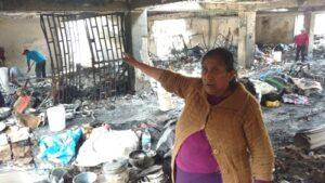 Incendio en galerías Príncipe y Perú: lo que el fuego se llevó