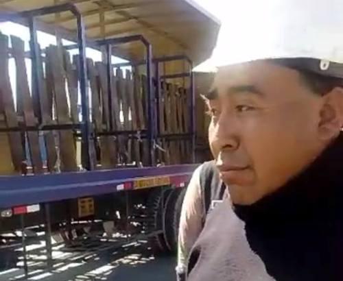 Conductor de camión acusado de atropello, Juan Jacho.