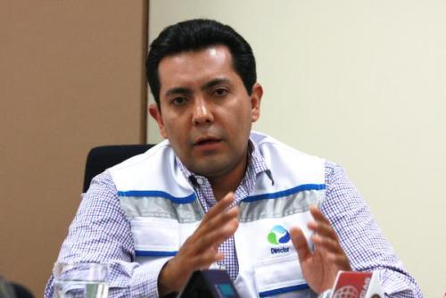 Presidente del Directorio de Sedapar, Hugo Aguilar.