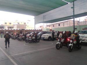 PNP presenta equipo Cobra que intervendrá a los delincuentes