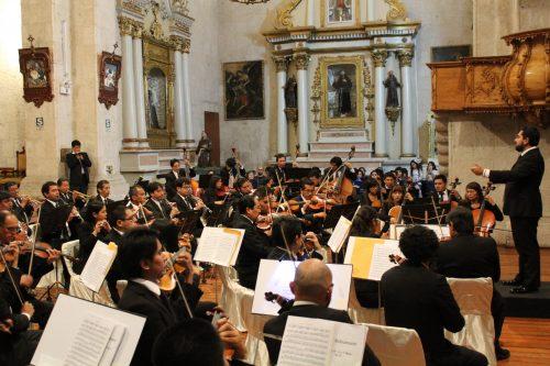 Orquesta sinfónica de Arequipa y Tchaikovsky