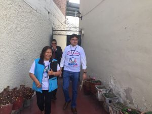 Ana María Choquehuanca no empadronó pero sí supervisó Censo