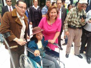 Ministra de la Mujer presenta campaña «Pase Libre» para personas con discapacidad