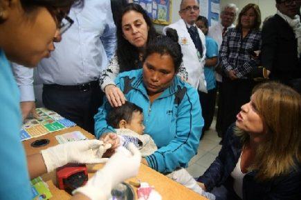 """Arequipa: Con """"visitas domiciliarias"""" buscan reducir la anemia en población infantil"""