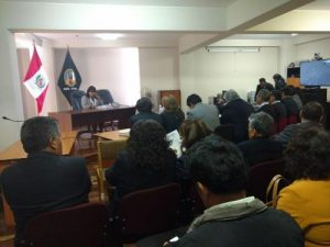 Un retraso más en un juicio contra Guillén por descoordinación del PJ