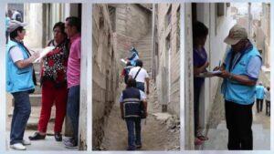 Censo 2017: Zonas de invasiones sin suficientes empadronadores