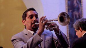 El Trompetista Franco Carranza de nuevo en Arequipa con la OSA
