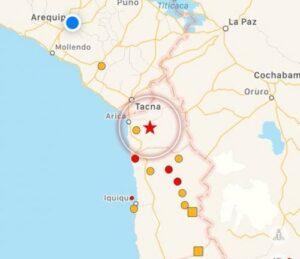 Fuerte sismo de 6.3 grados sacudió el norte de Chile esta madrugada