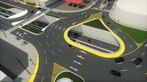 Municipalidad iniciará intercambio vial en plataforma Andrés Avelino Cáceres