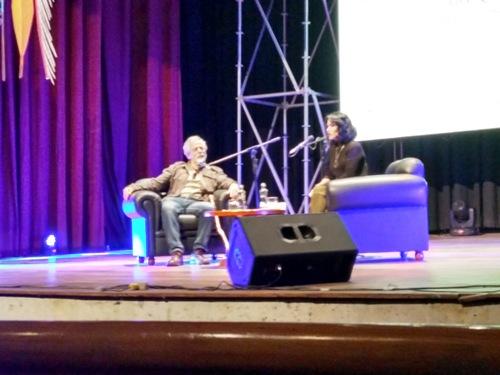 Lydia Cacho conversa con Gustavo Gorriti en el Hay Arequipa 2017