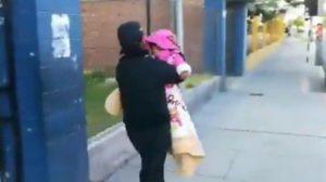 Madre abandonó bebé en calle San Francisco por festejar Halloween