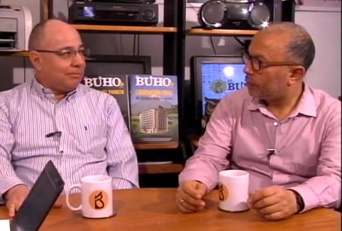 Hugo Coya y Pablo Quintanilla