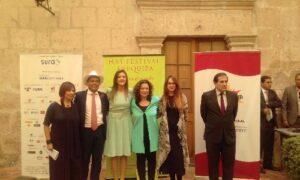 Inauguran el Hay Festival Arequipa prometiendo descentralizar la cultura