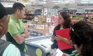 Fiscalía supervisa el retiro de conservas con parásitos de supermercados