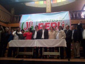 Grupos de izquierda conforman partido Juntos por el Perú