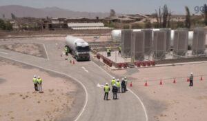 Fenosa traslada primer camión con gas natural para Arequipa