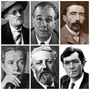 ¿Qué estudiaron los escritores?