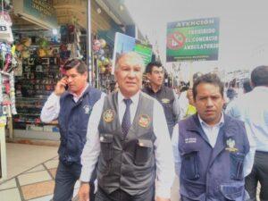 Más de 600 policías y serenos prohibirán el comercio ambulatorio