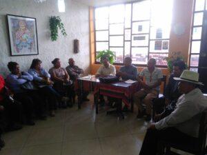 Pobladores de La Joya aseguran que no son invasores de terrenos