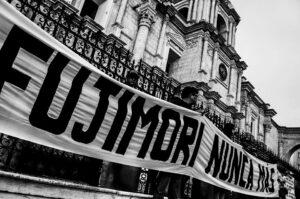 FOTOS y VIDEO. Así se realizó la protesta en contra del indulto a Fujimori en Arequipa