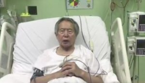 Alberto Fujimori ofrece apoyo político a Pedro Pablo Kuczynski
