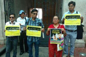 """En Arequipa convocan a marcha para """"Que se vayan todos"""""""