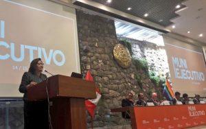 Ministra de la Mujer llamó a alcaldes luchar contra violencia de género