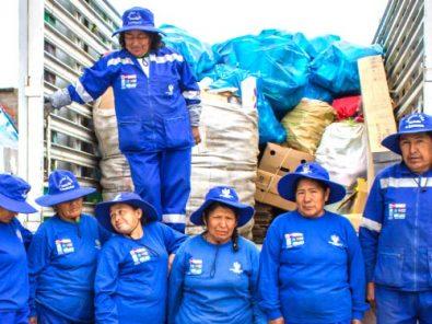 Gestión de residuos sólidos en Arequipa es dominada por mujeres