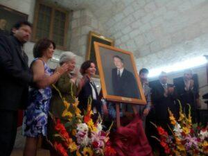 Gustavo Quintanilla Paulet fue incorporado a galería de arequipeños ilustres