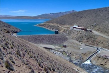 Represas de Arequipa aseguran reservas de agua hasta abril de 2019