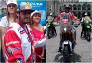 Otorgan reconocimiento a Sebastián Cavallero por su participación en Dakar 2018