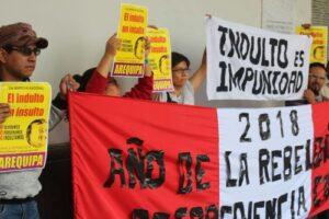 Colectivos civiles marcharán este 11 de enero en contra del indulto a Fujimori