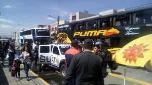 Visita del Papa: 450 policías de Arequipa viajan a Puerto Maldonado
