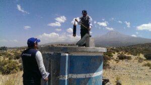Sunass supervisó 21 prestadoras de servicio de agua potable en Arequipa