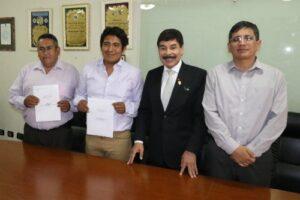 SIT: Consorcios de Cayma y Socabaya firmaron contratos