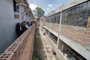 Autoridades declaran en riesgo alto el colegio Arequipa