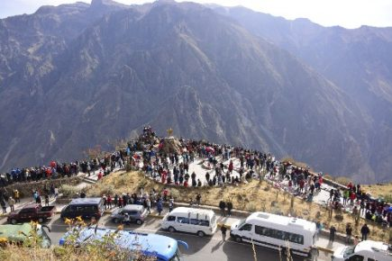 Turismo. Permitirán ingreso gratuito al Cañón del Colca en feriado largo