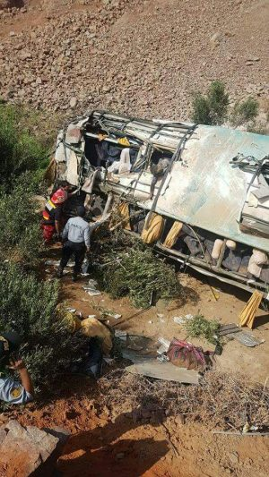 Solicitan 9 meses de prisión preventiva para conductor bus Rey Latino