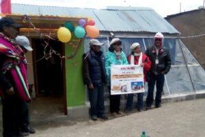 Instalan 42 viviendas térmicas en San Juan de Tarucani