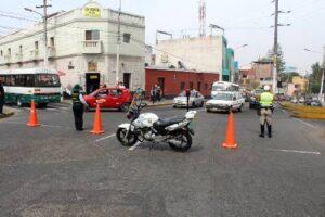 Persistió congestión vehicular en prueba de desvíos de Juan de la Torre