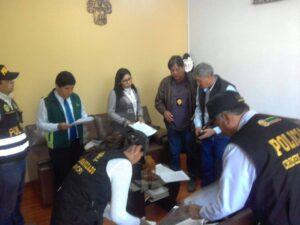 Fiscalía allana despacho y vivienda de Manuel Vera