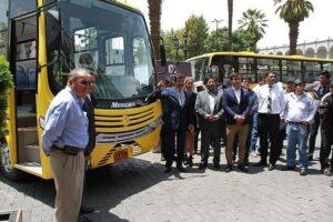 El SIT arrancará con cuatro empresas de transporte a partir de mayo
