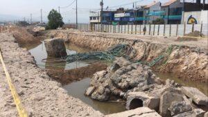 El tramo II de la obra Variante de Uchumayo comenzó a hacer agua