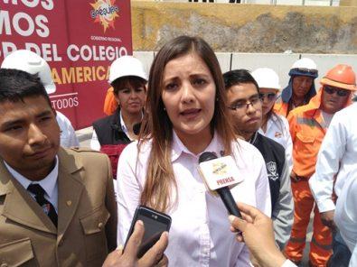 Yamila Osorio: Pedido de vacancia es una pérdida de tiempo