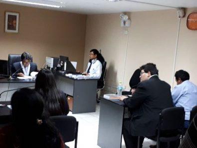 Se instala juicio contra exfuncionarios de Zegarra por compra de patrulleros