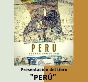 Teresa Orbegoso presenta poemario «Perú»