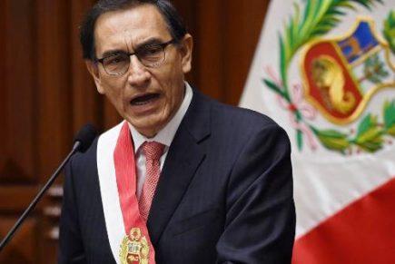 Un año de Martín Vizcarra