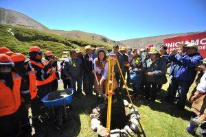Proyecto irrigacional del río Arma en Condesuyos inicia el GRA