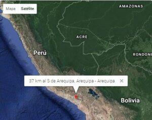 Dos sismos de regular intensidad se percibieron en Arequipa