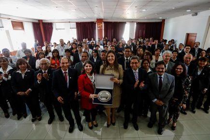 Gobierno Regional recibió distinción del Programa Mundial de Alimentos de las Naciones Unidas